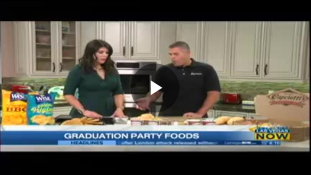 ceo on the news graduation party foods