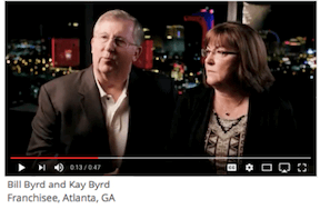 Bill Byrd and Kay Byrd, Franchisee, Atlanta, GA